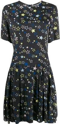 Love Moschino Star Print Midi Dress
