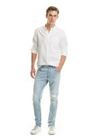Country Road Slim Tapered Rip Jean