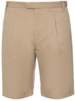 Gucci Tailored Cotton And Silk-blend Shorts
