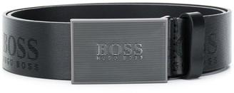 BOSS Logo Engraved Belt