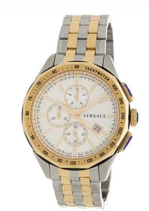 Versace Men's Glaze Chronograph Bracelet Watch, 44mm