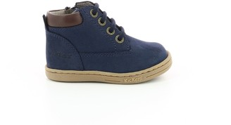 Kickers Kids Tackland Suede Boots