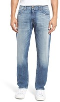 Fidelity Jimmy Slim Straight Leg Jeans (Trick Vintage)