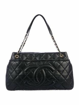 Chanel Timeless Soft Shopper Tote Black