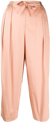 Altea Cropped Straight-Leg Trousers