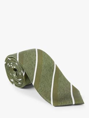 John Lewis & Partners Stripe Silk Tie