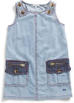 Little Marc Jacobs Girls Denim Dress (2-10Y)