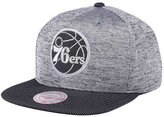 Mitchell & Ness Philadelphia 76ers Space Knit Snapback Cap