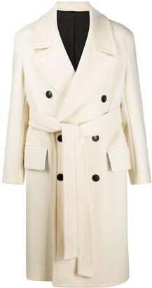 AMI Paris Double-Breasted Coat