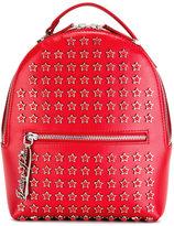 Philipp Plein 'Iota' backpack - women - Calf Leather/Acrylic/Polyester/metal - One Size