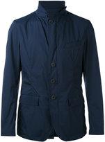 Herno classic blazer jacket - men - Polyamide/Spandex/Elastane - 48