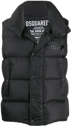 DSQUARED2 quilted puffer gilet