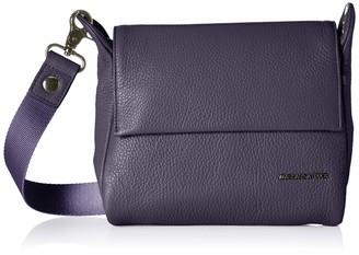 Mandarina Duck Women's Mellow Leather Tracolla Shoulder Bag 6 x 15 x 21 cm Blue Size: One size