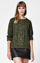 Obey Freja Cable Knit Pullover Sweater