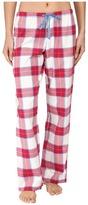 Life is Good Berry Plaid Classic Sleep Pant