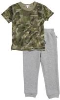 Splendid Boy's Camo T-Shirt & Jogger Pants