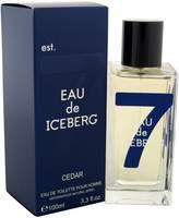 Iceberg EAU DE CEDAR by for MEN: EDT SPRAY 3.4 OZ