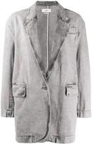 Etoile Isabel Marant Holly acid wash jacket