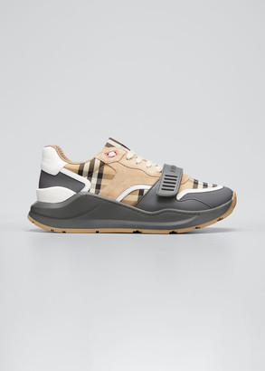Burberry Ramsey M Vintage Check Low-Top Sneakers