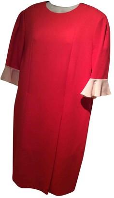 Roksanda Ilincic Red Wool Dress for Women