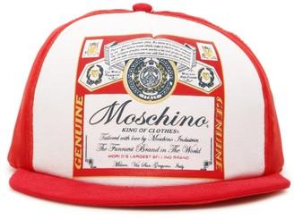 Moschino X Budweiser Baseball Cap