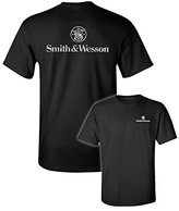 Smith & Wesson Chrome Logo Back print SS T-shirt-xxl
