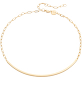Jennifer Zeuner Jewelry Cecelia Chain Choker Necklace