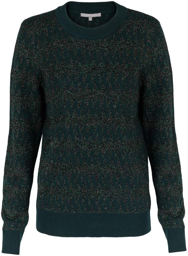 5f5c4826f38d0a Bottle Green Sweater - ShopStyle UK