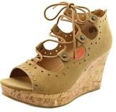 Jellypop April Women Open Toe Synthetic Wedge Sandal.