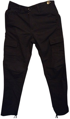 Carhartt Black Polyester Trousers