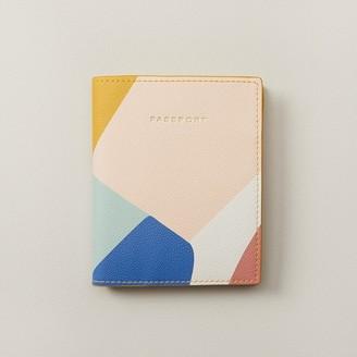 Love & Lore Love And Lore Passport Cover Colourblock Multi-Colour