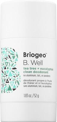 BRIOGEO B. Well Tea Tree + Eucalyptus Clean Deodorant