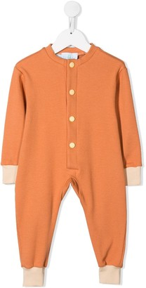 Eshvi Kids Ribbed Button-Front Pajamas