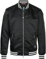 GUILD PRIME zipped bomber jacket