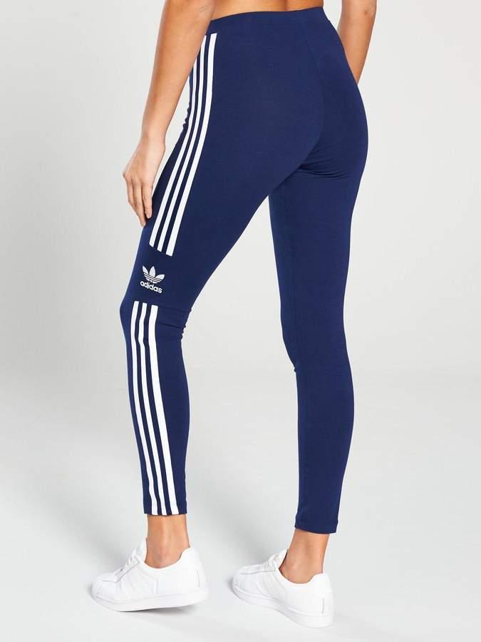 7be11b133cd22d Adidas Originals Womens Leggings Trefoil - ShopStyle UK