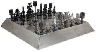Bloomsbury Market Coolville Gray Chess Board Game