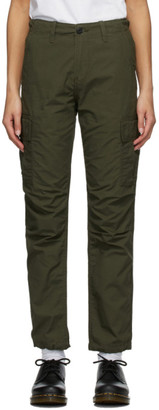 Carhartt Work In Progress Green Cymbal Trousers