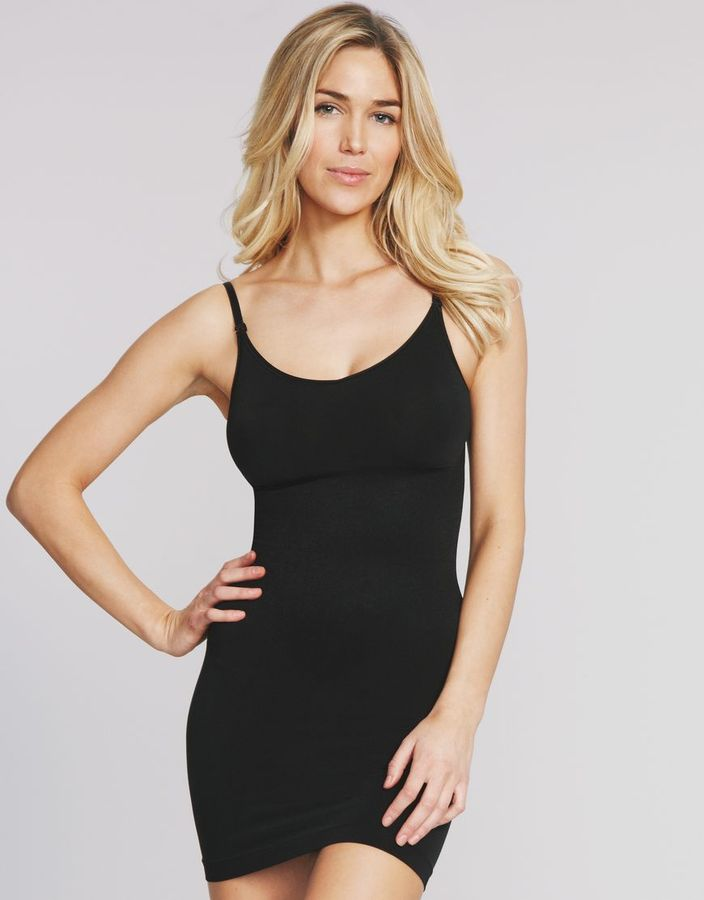 Maidenform Control It Shiny Full Slip With Convertible Straps