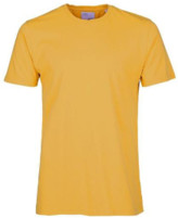 Colorful Standard - Yellow Burned Classic Organic Tee - M - Yellow