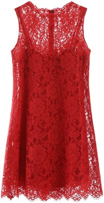Dolce & Gabbana Lace A-Line Dress