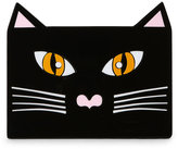 Yazbukey Black Cat Acrylic Clutch