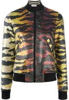 Faith Connexion metallic reversible bomber jacket - women - Silk/Polyester - S