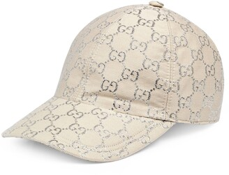Gucci GG lame baseball hat