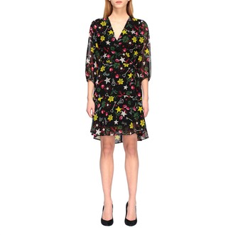 Liu Jo Short Dress With All Over Prints