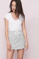 Garage Fleece A-Line Drawstring Skirt
