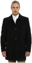 Vince Camuto Storm System Wool Melton Carcoat