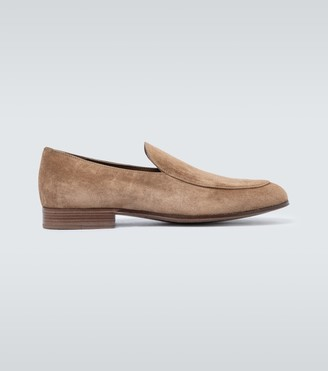 Gianvito Rossi Exclusive to Mytheresa - Marcello suede loafers