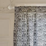 Minted Crisscross Curtains