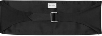 Saint Laurent Wide Waist-Cinching Belt
