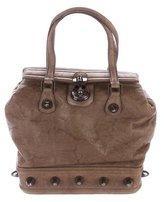 Thomas Wylde Stud Embellished Handle Bag